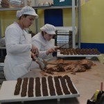 Préparation des chocolats traditionnels de Torino